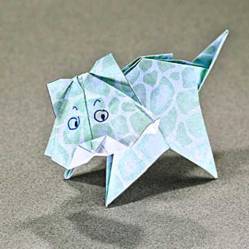 Origami de chaton